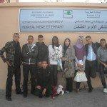 Visite aux enfants malades au CHU Mohamed VI